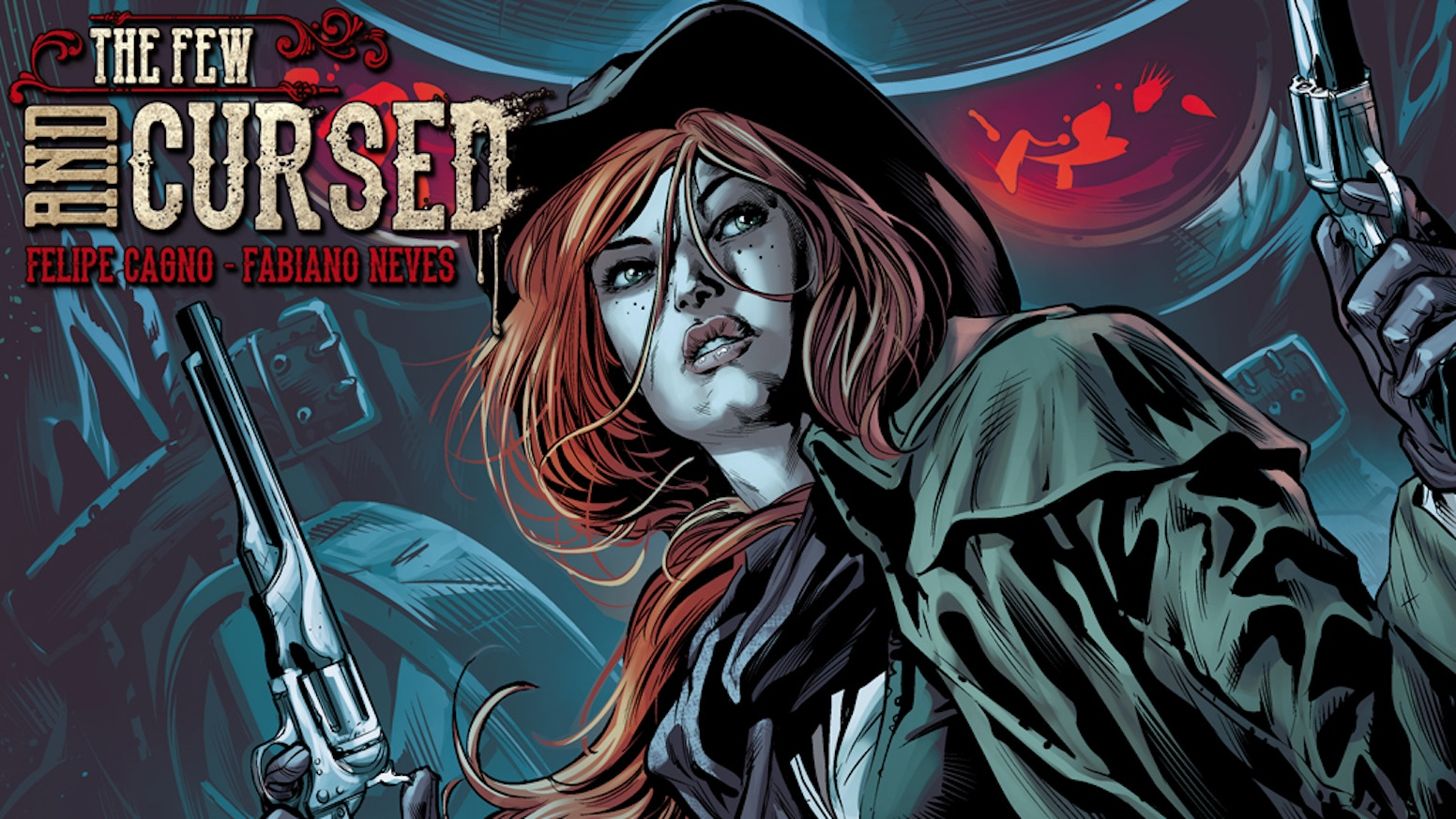 Join the Redhead as she chases the curse of The Crows of Mana'Olana in this epic supernatural western. Issue #1 also available!