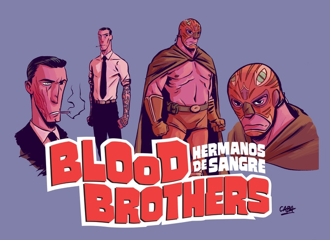 THE DESIGN FOR THE BLOOD BROTHERS SHIRT!