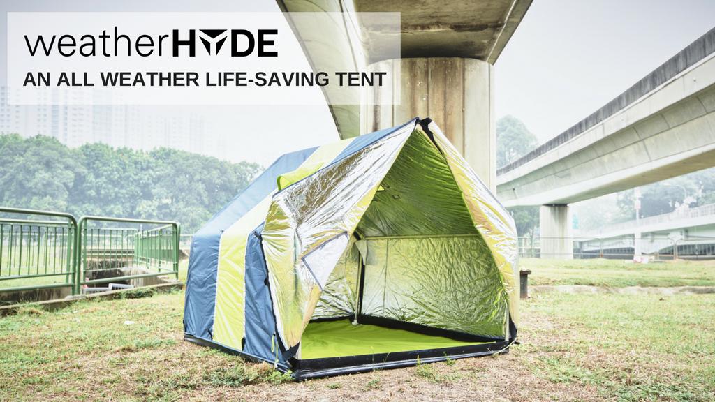WeatherHYDE: an all season life-saving tent project video thumbnail