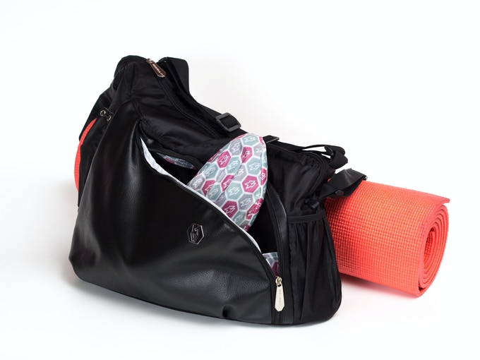 Command bag can be your work or gym bag or both