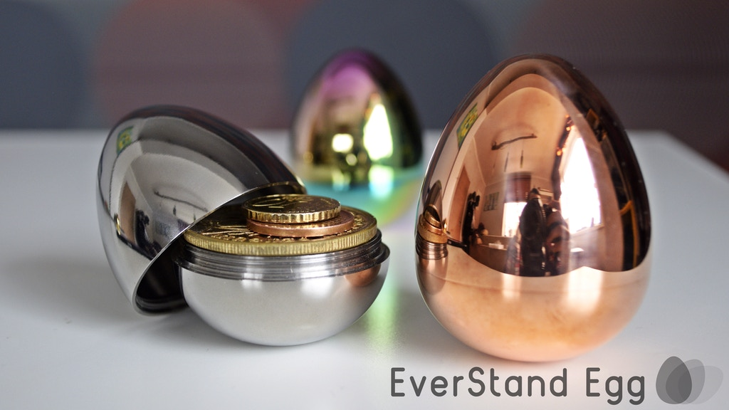 EverStand: Self-Balancing Egg with Storage Space inside project video thumbnail