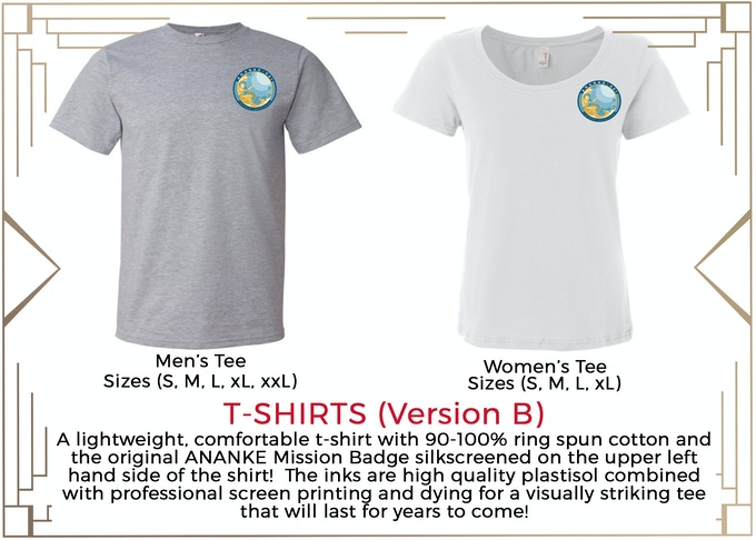 MINIMUM $150 DONATION for T-Shirt and other prize tiers below it!