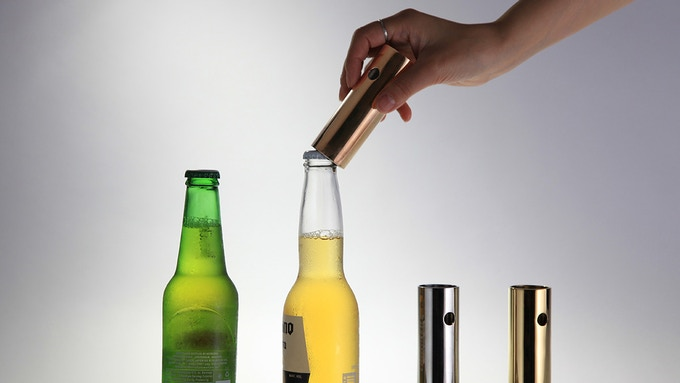 clover your most refined bottle opener by hcwdstudio kickstarter. Black Bedroom Furniture Sets. Home Design Ideas
