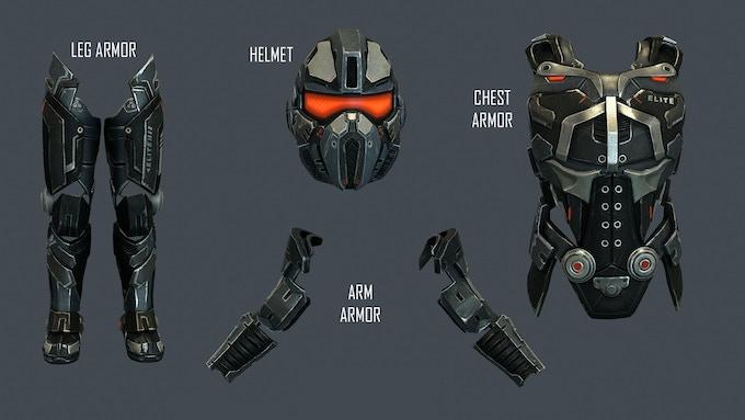 Elite Edition - Exclusive Armor Set + Helmet