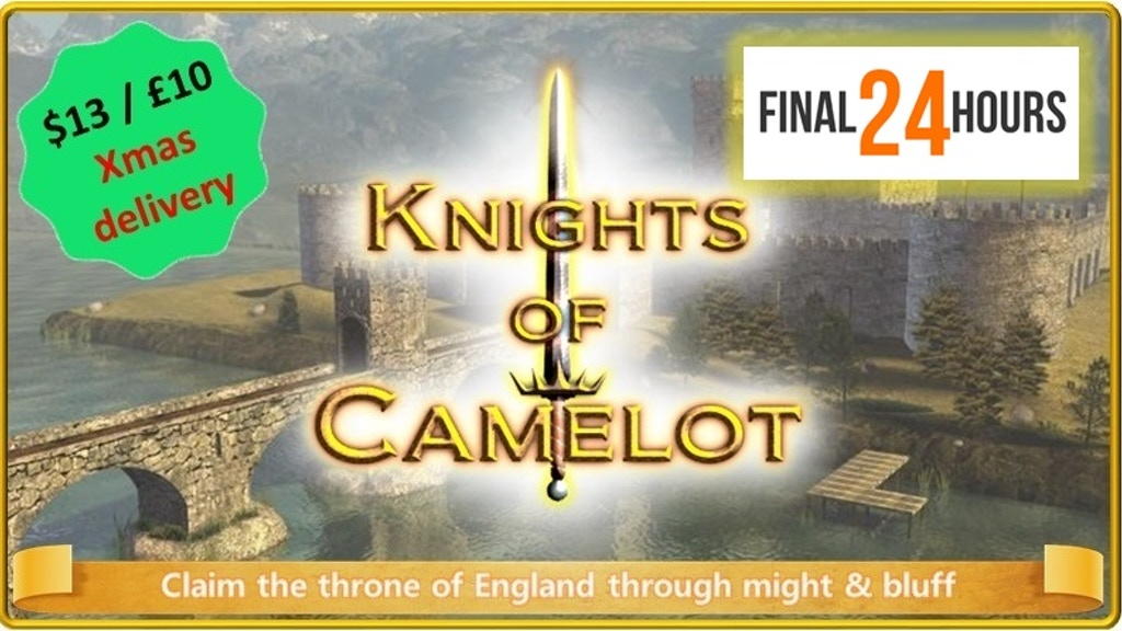 Knights of Camelot - a fun card game of bluff & laughter project video thumbnail