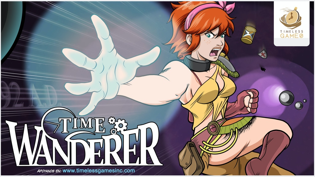Time Wanderer - A Sci-fi time travel action RPG videogame!