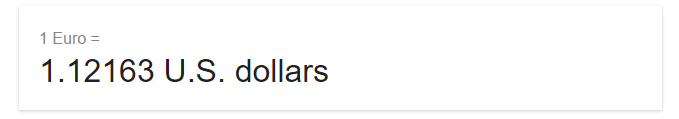 according to google on 3 October 2016