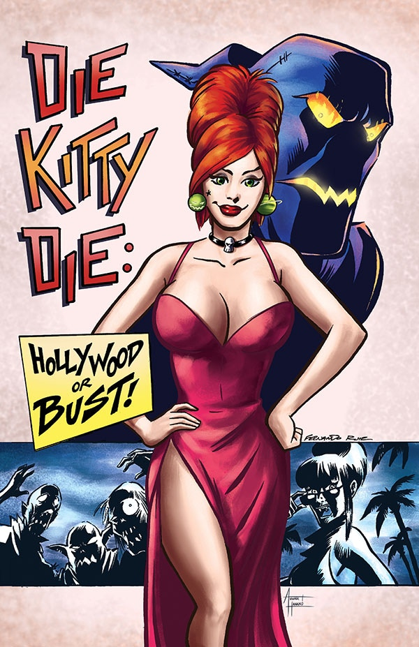 Fernando's cover for DIE KITTY DIE : HOLLYWOOD OR BUST #1