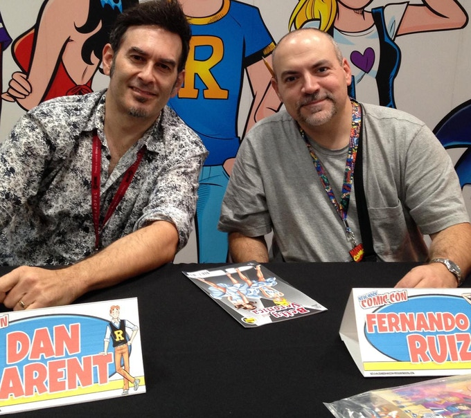 Meet Dan and Fernando, your friendly creators!