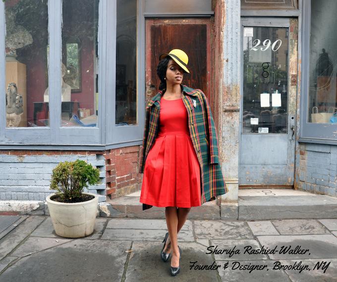 Sharufa Rashied-Walker, Founder & Designer, Brooklyn, NY