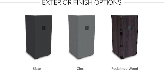 (We will contact you at the end of the campaign to select your desired exterior finish)