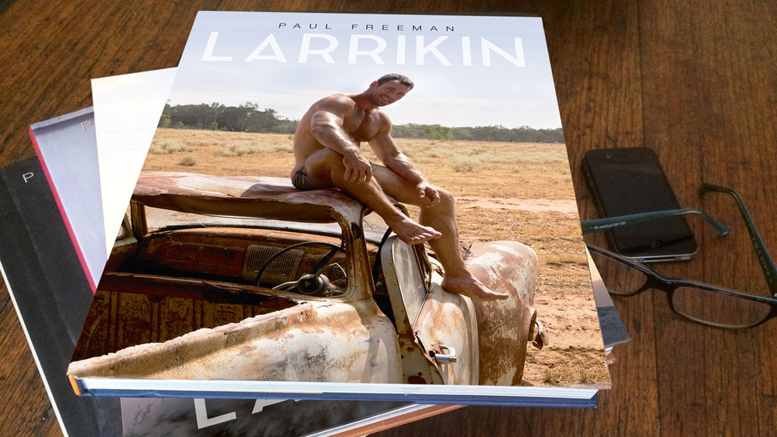 I'm publishing and distributing two new books of male nudes and portraits, LARRIKIN and LARRIKIN YAKKA, the start of a new series.