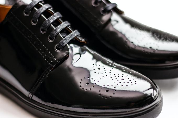 The Tuxedo Sneaker