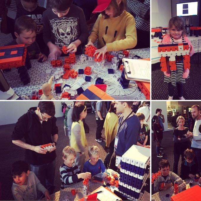 Kids love Aran Blocks