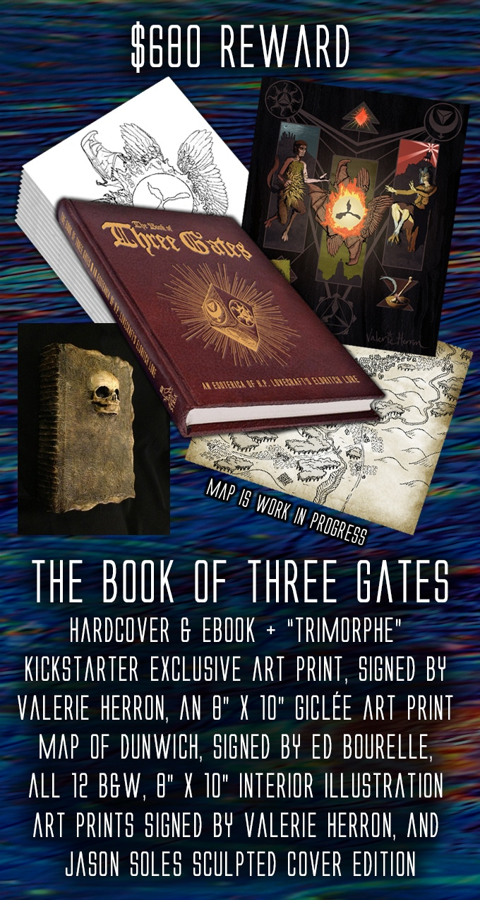 The book of three gates by simon berman kickstarter for illustrative purposes only final product may vary fandeluxe Gallery