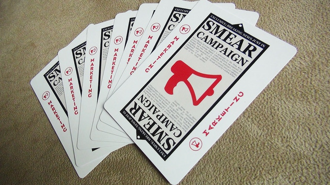 Smear Campaign cards
