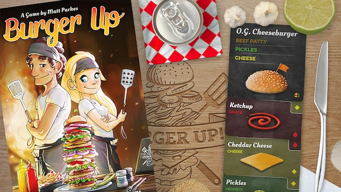 Burger Up is a card matching puzzle game about the art of burger making. Fill orders, earn prestige and be the best burger chef around!
