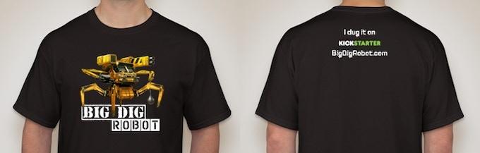 Big Dig Mk III T-Shirt