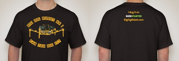 Big Dig Mk I T-Shirt