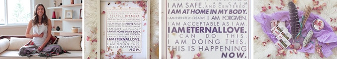 Meditation Video, Affirmation Posters, and Self-Care Gifts