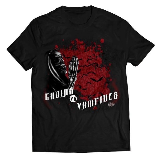 Cholos vs Vampires T-Shirt
