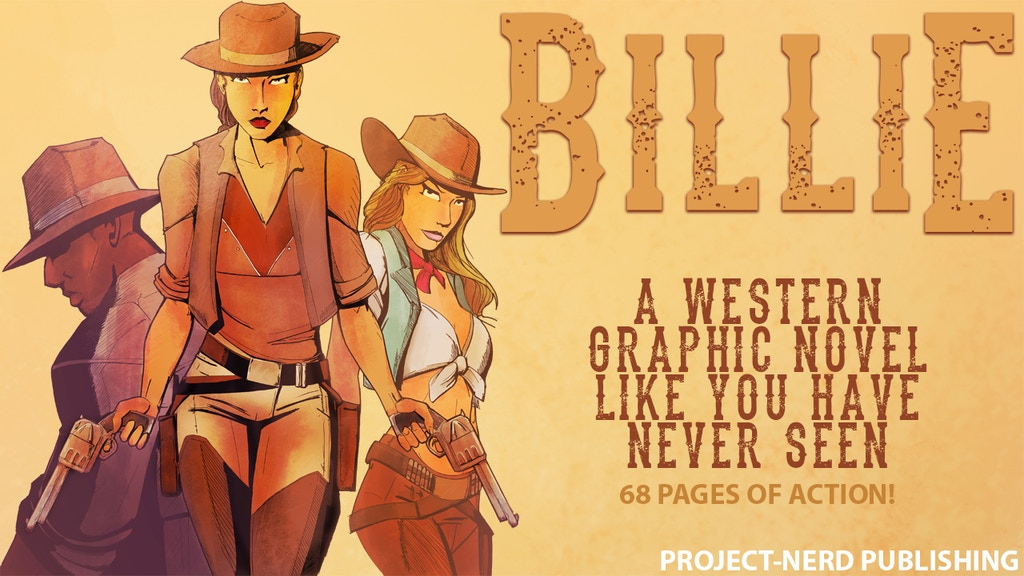 Billie: A Western Graphic Novel project video thumbnail