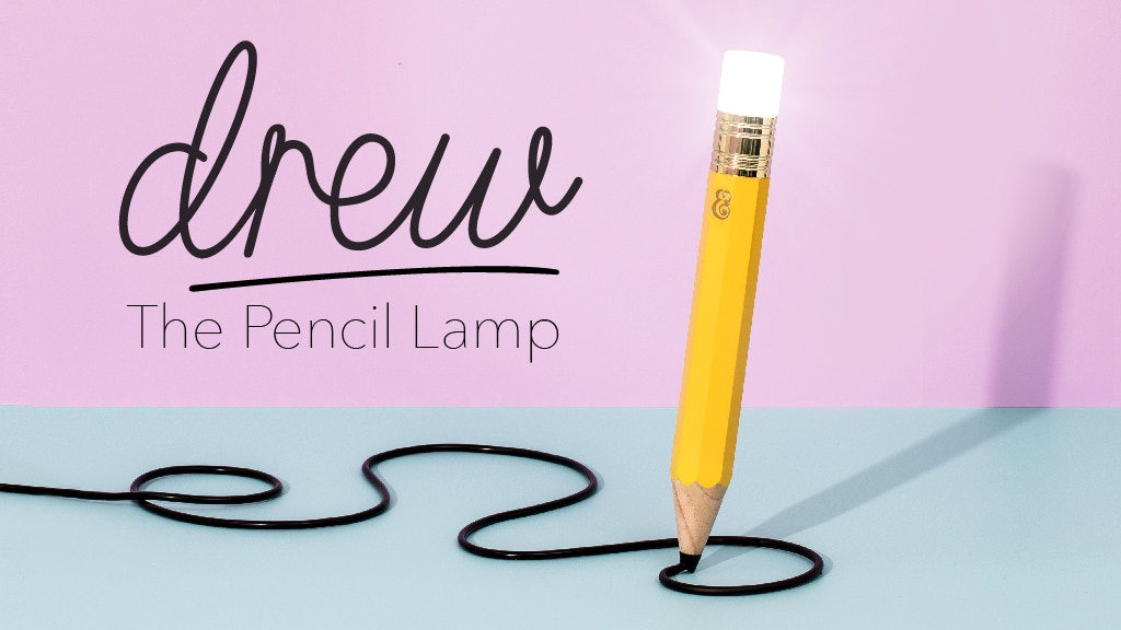 Drew the Pencil Lamp project video thumbnail