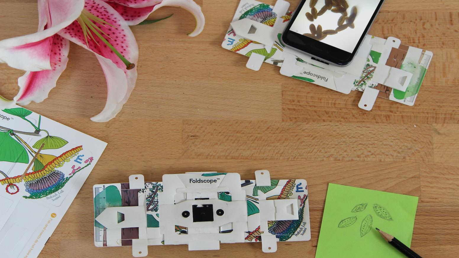 Foldscope The Origami Paper Microscope By Foldscope Manu Prakash