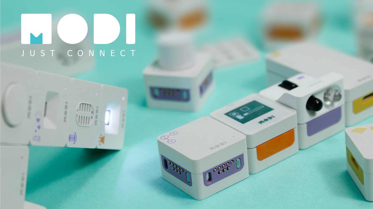 MODI is a modular device for DIY IoT, and robotic creations. Just Connect and Build with MODI module.