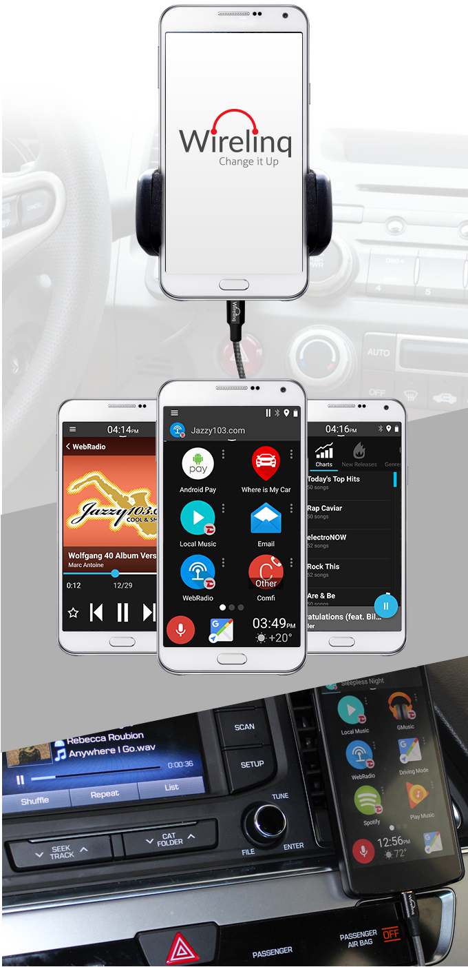 Wirelinq: a Smart Android USB Converter Cable for Car Music