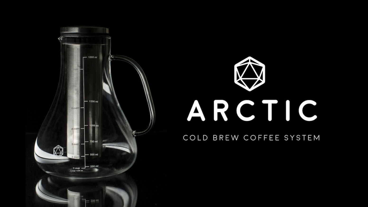 You deserve better coffee make it now with the arctic by inspired the future of coffee is cold brew the arctic lets you make your own easily fandeluxe Gallery