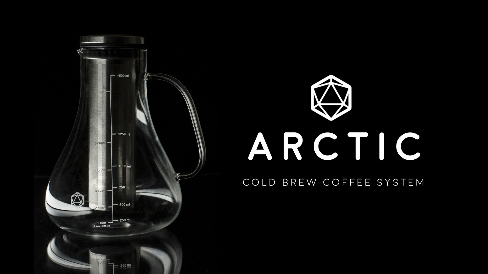 The future of coffee is cold brew. The Arctic lets you make your own easily to enjoy the perfect cup of coffee any time.