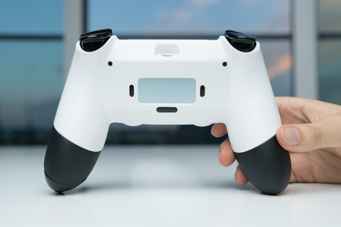 OLED game selector screen