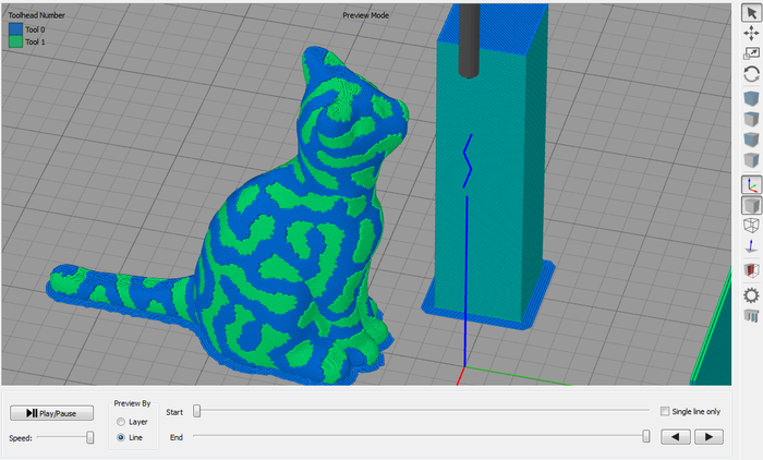 The Prometheus System - Intuitive Multi-Filament 3D Printing