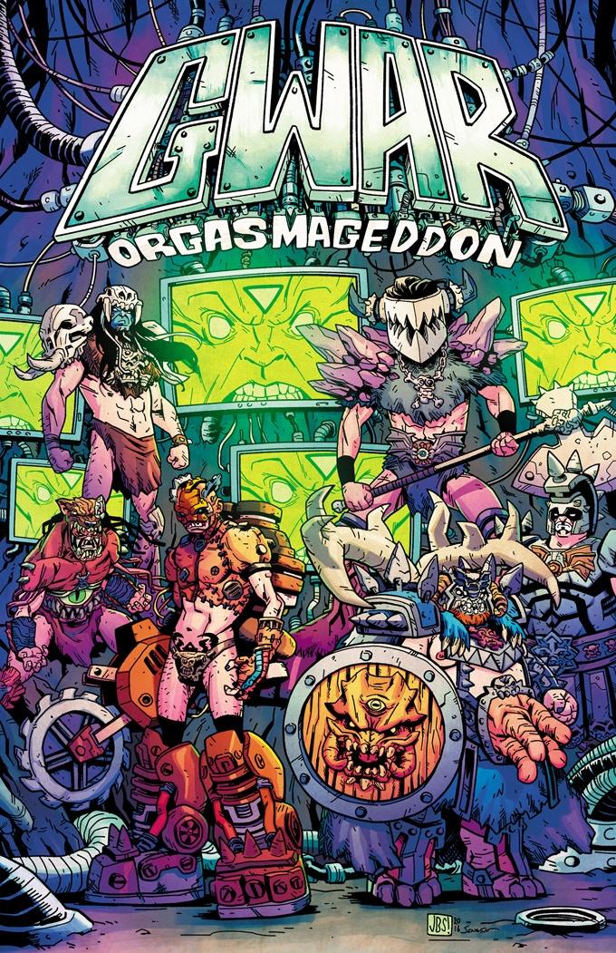 Issue 1 standard cover - art by Jonathan Brandon Sawyer, color by Josh Jensen