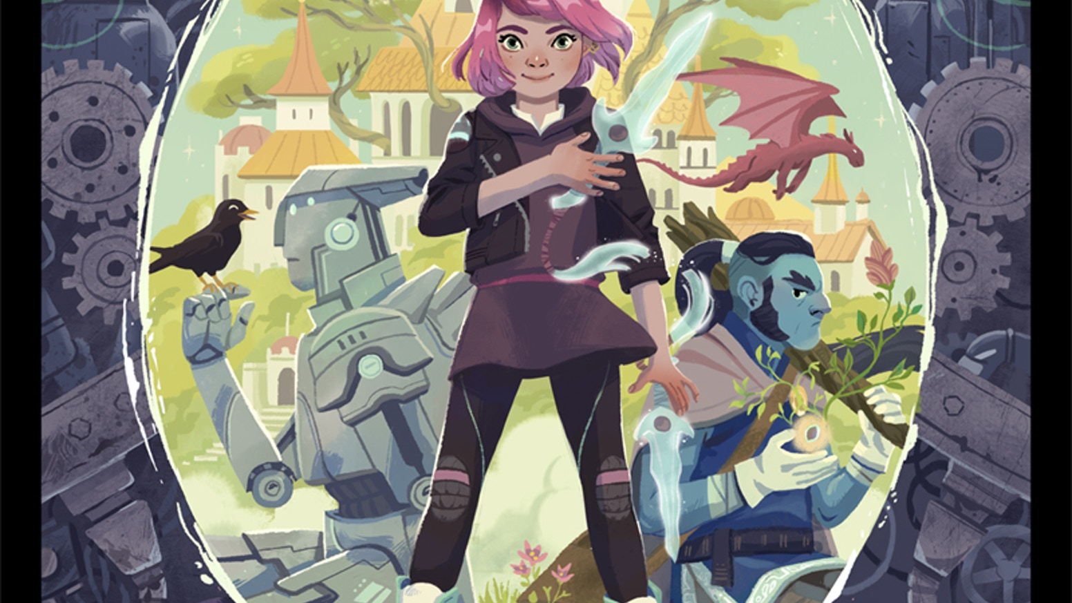 Sixth grader, Penelope Hawk embarks on an epic adventure to rescue her mom from the Nightmare King & save the dream world of Marazia.