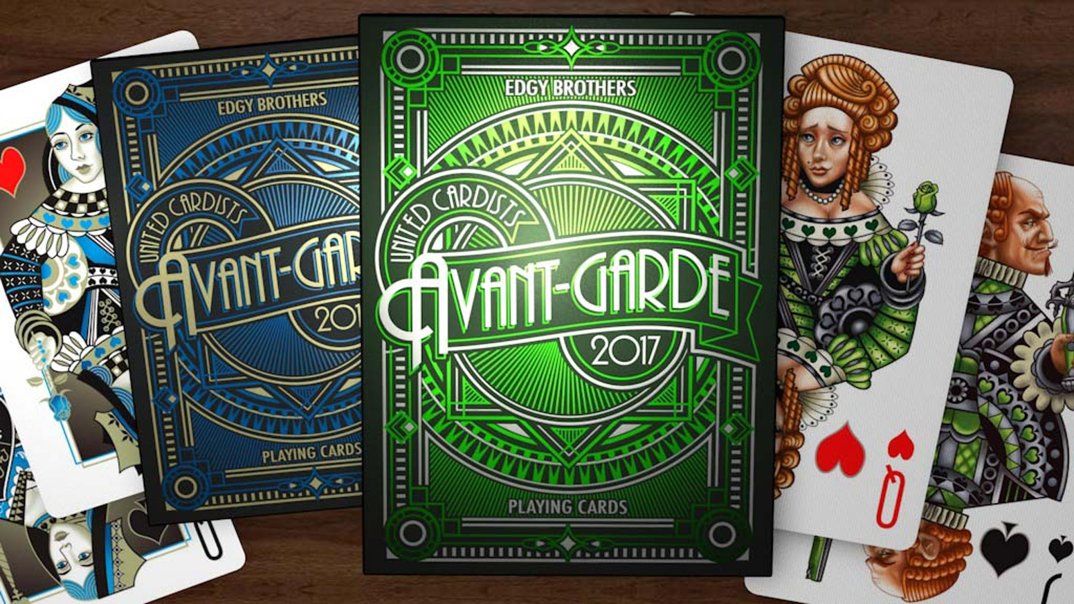 Avant Garde The Uc 2017 Fifth Annual Deck By Edgy Brothers By Edgy