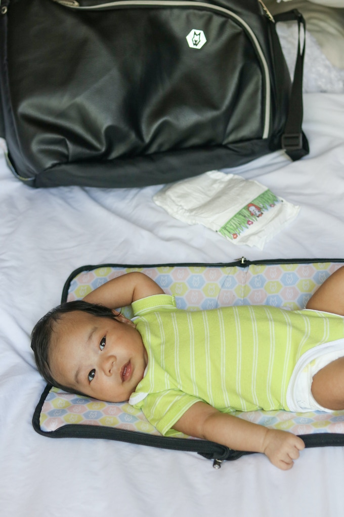 Changing pad that comes with Care Tote