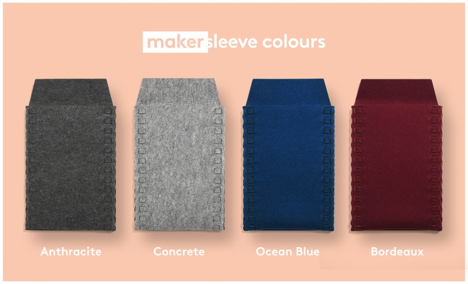 Makersleeve Felt Colours