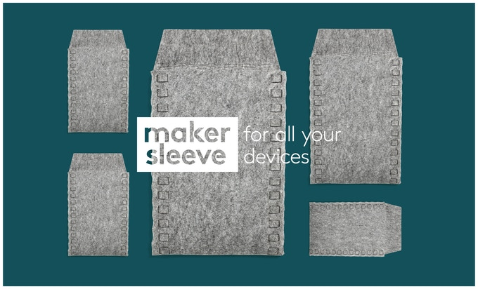 Makersleeves are custom made to perfectly fit any laptop, tablet or e-reader.
