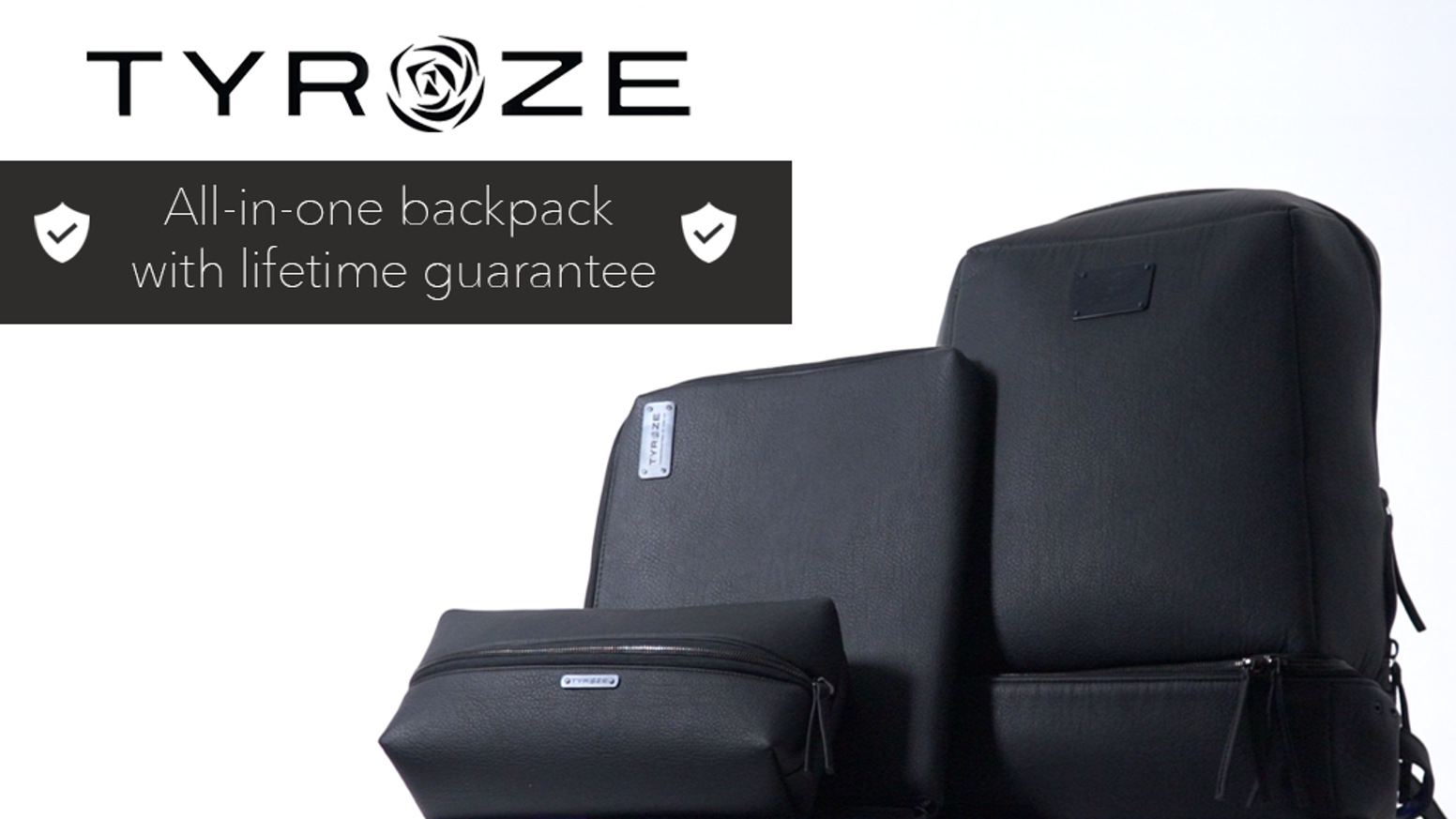 Tyroze: 3 in 1 Premium Urban Bag With Lifetime Guarantee by