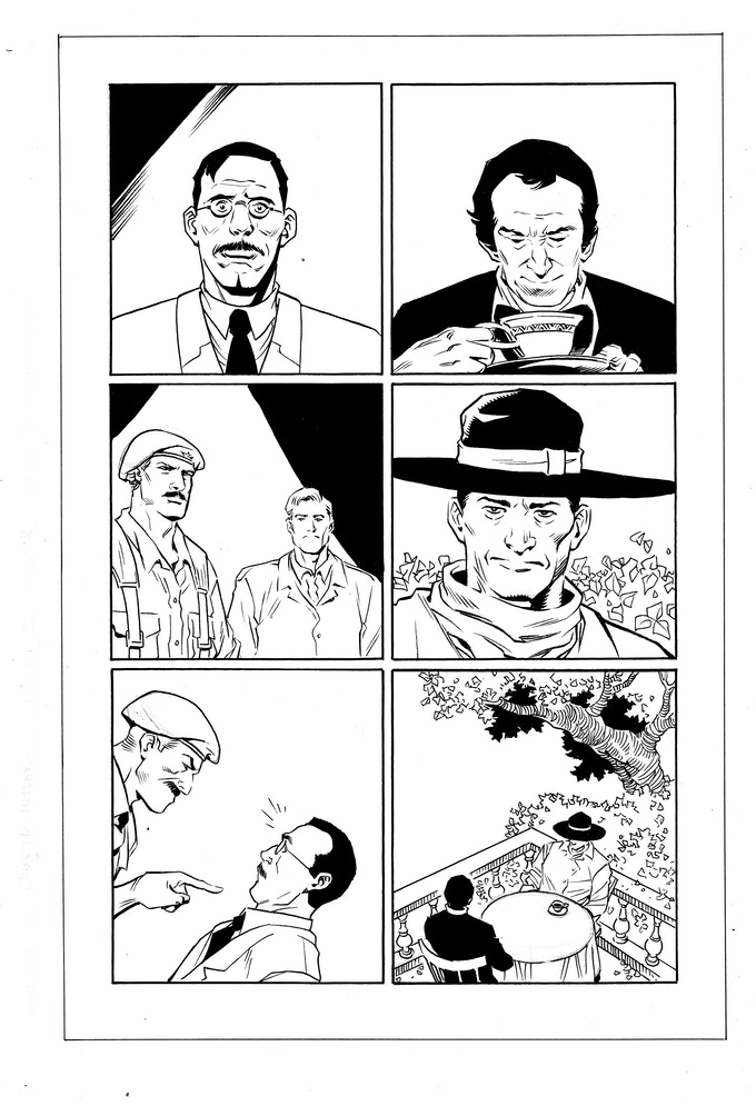 Issue #2 page 8 - inks by Jethro Morales
