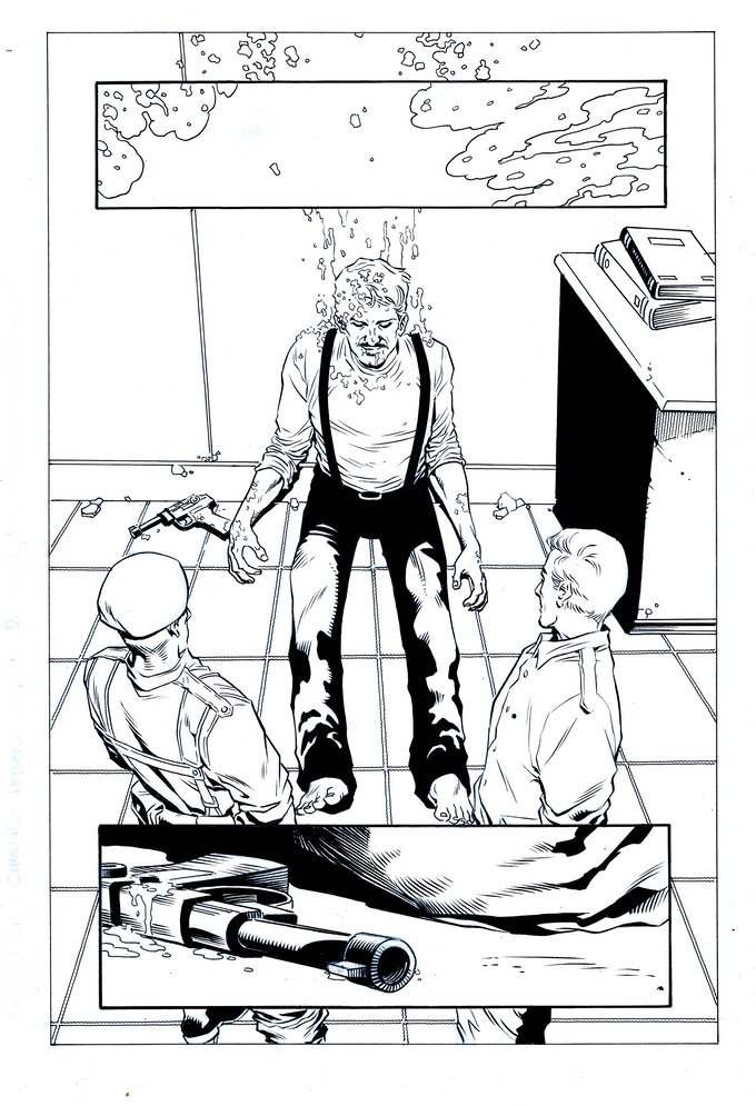 Issue #2 page 10 - inks by Jethro Morales