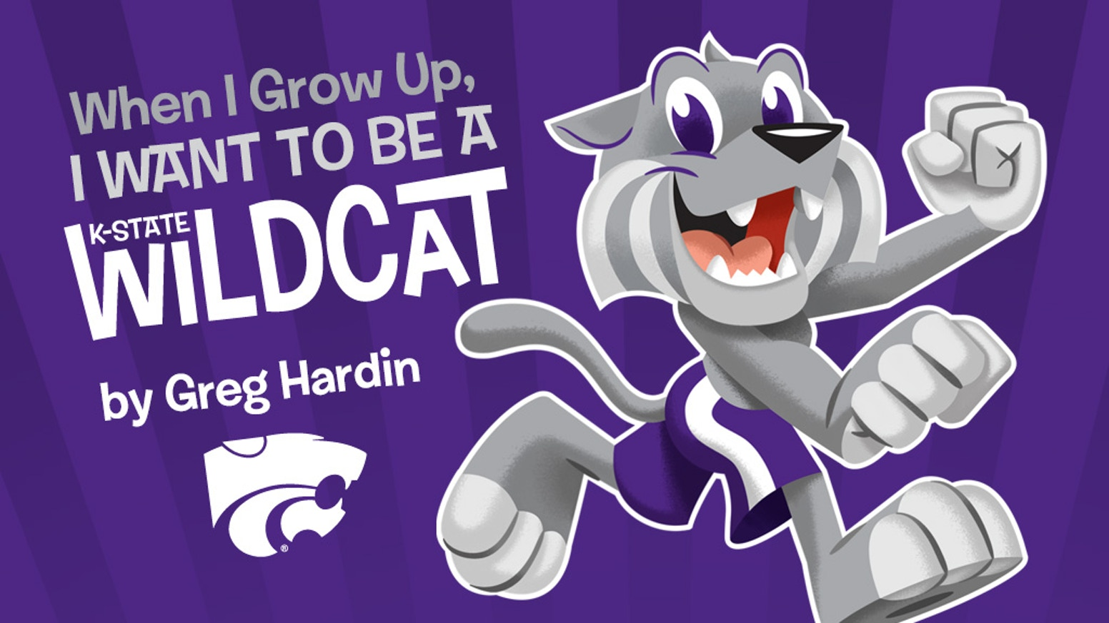 An officially licensed Kansas State University illustrated book (that adults will enjoy) by professional illustrator Greg Hardin