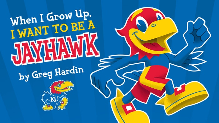 An officially licensed University of Kansas illustrated book (that adults will enjoy) by professional illustrator Greg Hardin