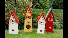 Beautiful birds houses