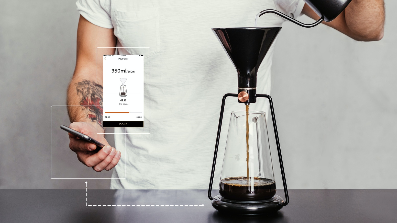 GINA: Smart coffee instrument / by GOAT STORY by Anze