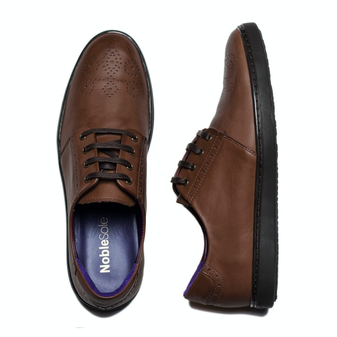 Chocolate Brown: Adds a touch of sophistication to your navy and charcoal pieces.