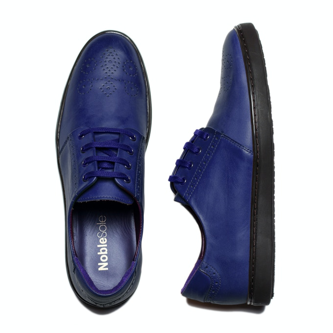 Royal Blue: Have a little bit of fun with your greys, tans and even burgundy chinos.