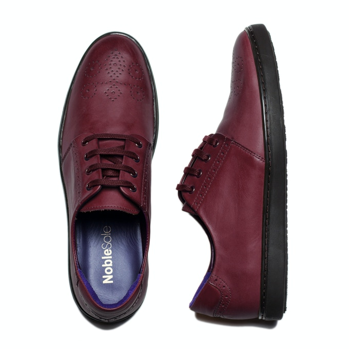 Oxblood: A personal favourite because this colour looks amazing with blues and greys, but also pairs really well with black.